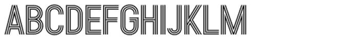 Kandel 105 Medium Font UPPERCASE