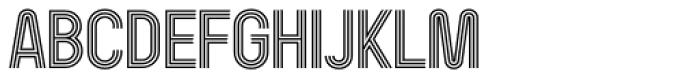 Kandel 205 Medium Font UPPERCASE