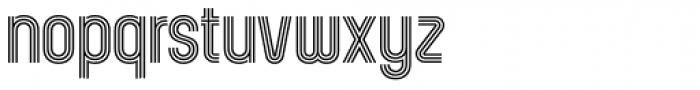 Kandel 205 Medium Font LOWERCASE