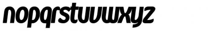 Kandira Alt Extra Black Italic Font LOWERCASE