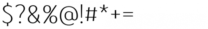 Kandira Alt Extra Light Font OTHER CHARS