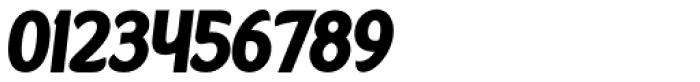 Kandira Extra Black Italic Font OTHER CHARS