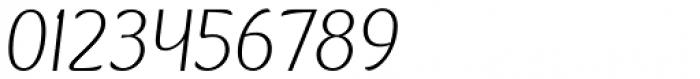 Kandira Extra Light Italic Font OTHER CHARS