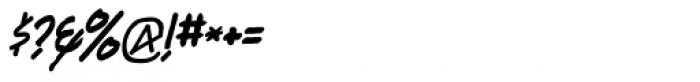 Kandt Headline Italic Font OTHER CHARS