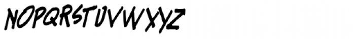 Kandt Headline Italic Font LOWERCASE