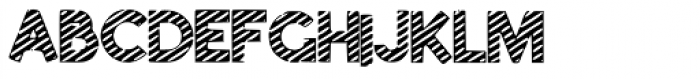 Kandy Kane Font UPPERCASE