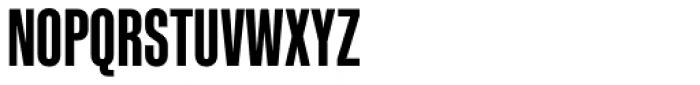 Kaneda Gothic Bold Font UPPERCASE