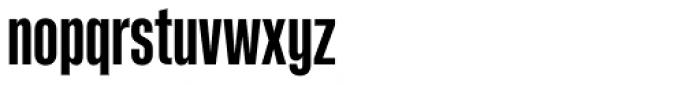 Kaneda Gothic Bold Font LOWERCASE