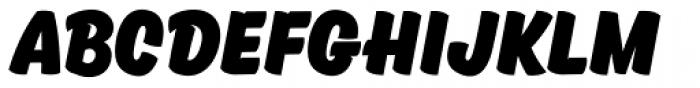Kansas Casual Black Font LOWERCASE