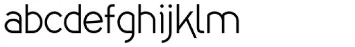 Kaodai Font LOWERCASE