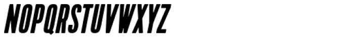 Kapra Condensed Italic Font UPPERCASE