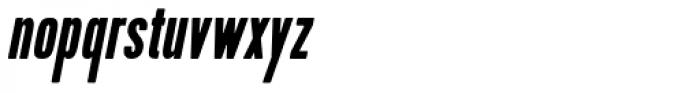 Kapra Condensed Italic Font LOWERCASE