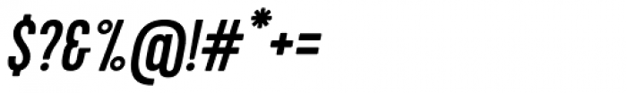 Kapra Italic Font OTHER CHARS
