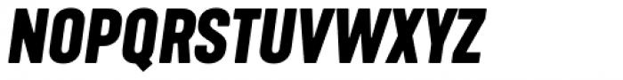 Kapra Neue Bold Italic Font UPPERCASE