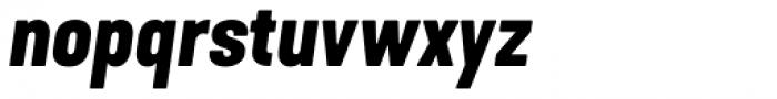 Kapra Neue Bold Italic Font LOWERCASE