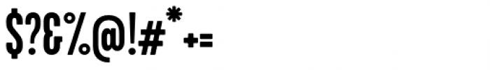 Kapra Neue Medium Condensed Font OTHER CHARS