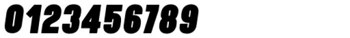 Kapra Neue Pro Black Italic Condensed Rounded Font OTHER CHARS