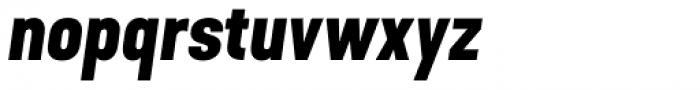 Kapra Neue Pro Bold Italic Font LOWERCASE