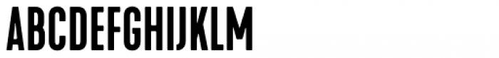 Kapra Neue Pro Medium Condensed Rounded Font UPPERCASE