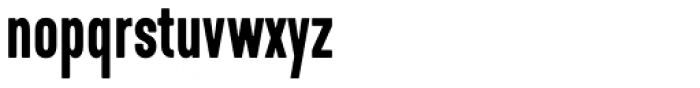 Kapra Neue Pro Medium Condensed Rounded Font LOWERCASE