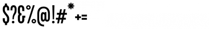 Kapra Neue Pro Regular Condensed Font OTHER CHARS