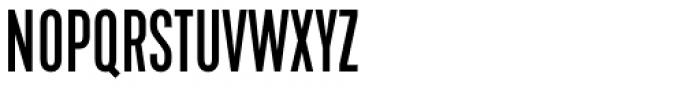 Kapra Neue Pro Regular Condensed Font UPPERCASE