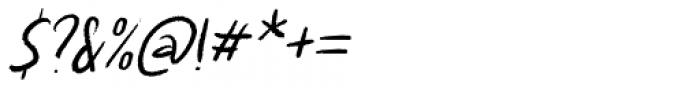 Kapsalon Pencil Italic Font OTHER CHARS
