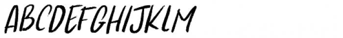Kapsalon Pencil Italic Font UPPERCASE