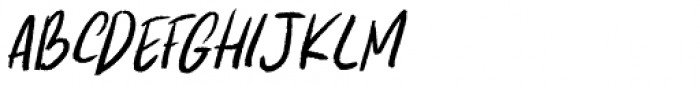Kapsalon Pencil Italic Font LOWERCASE
