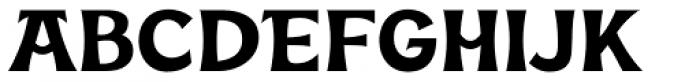 Kara Display Font UPPERCASE