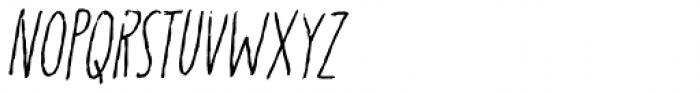 Karamboule Italic Font UPPERCASE