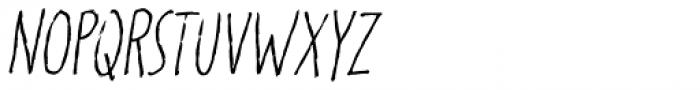Karamboule Italic Font LOWERCASE