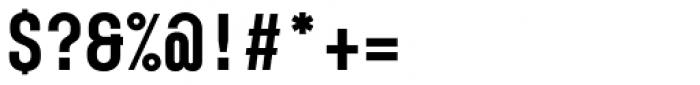 Karben 105 Mono Black Font OTHER CHARS