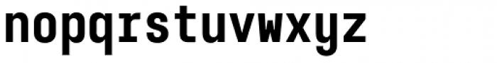 Karben 105 Mono Black Font LOWERCASE