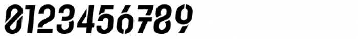 Karben 105 Stencil Black Oblique Font OTHER CHARS