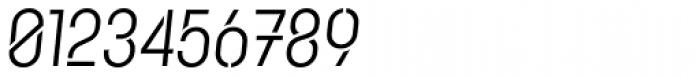 Karben 105 Stencil Regular Oblique Font OTHER CHARS