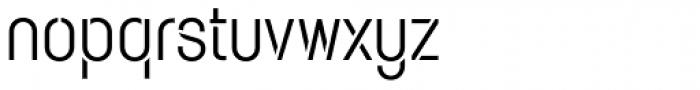 Karben 105 Stencil Regular Font LOWERCASE
