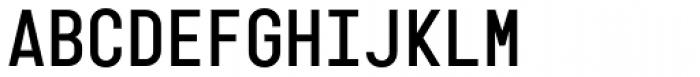 Karben 205 Mono Bold Font UPPERCASE