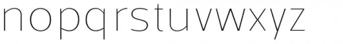 Kareemah Thin Font LOWERCASE