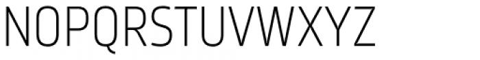 Karibu Condensed Light Font UPPERCASE