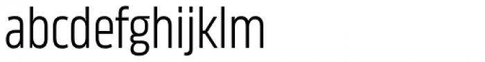 Karibu Narrow Book Font LOWERCASE