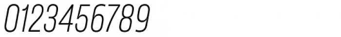 Karibu Narrow Light Italic Font OTHER CHARS