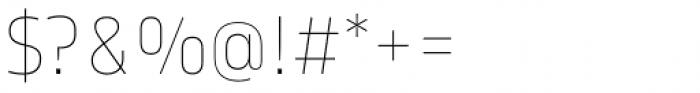 Karibu Ultra Thin Font OTHER CHARS