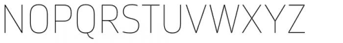 Karibu Ultra Thin Font UPPERCASE