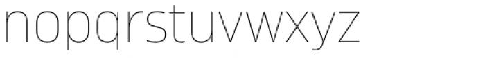 Karibu Ultra Thin Font LOWERCASE