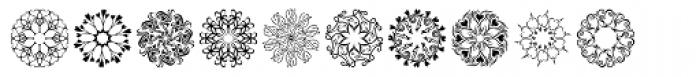 Karika Hearts Font UPPERCASE