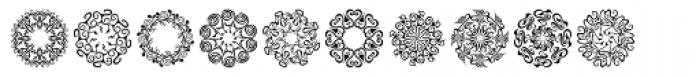 Karika Swirls Font UPPERCASE