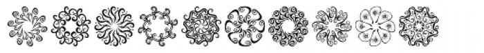 Karika Swirls Font LOWERCASE