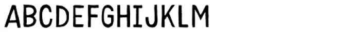 Karisans Fill A Font UPPERCASE