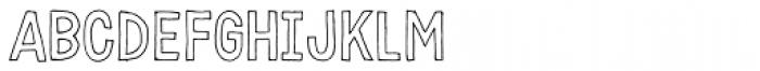 Karisans Open A Font UPPERCASE